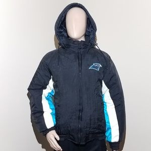 new product 2dcf0 94550 VTG 90s Large Carolina Panthers Winter Coat NFL